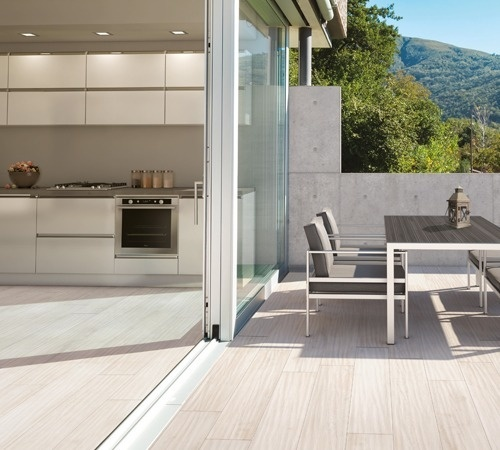carrelage int rieur ext rieur aspect bois x cm. Black Bedroom Furniture Sets. Home Design Ideas