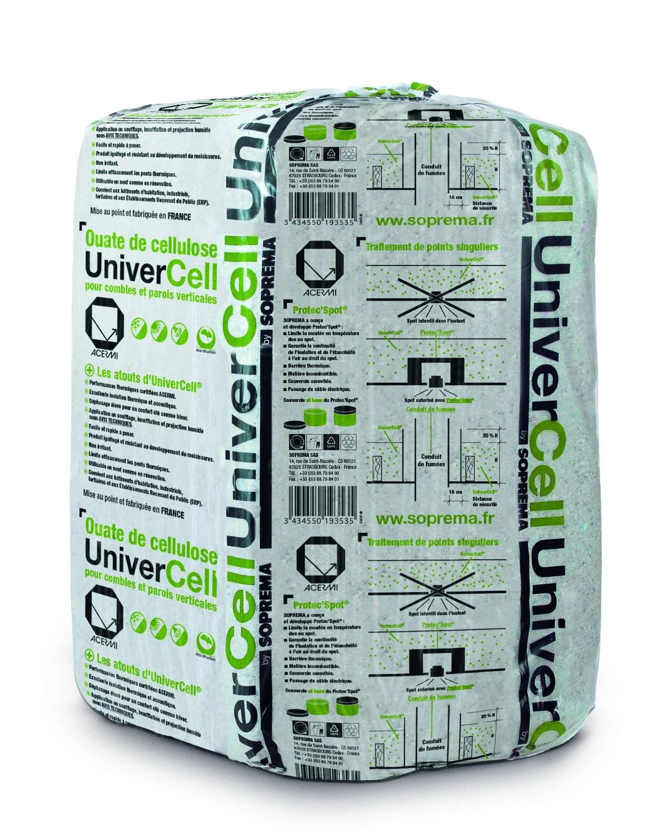 Ouate de cellulose isolation produits maurin membre - Ouate de cellulose brico depot ...